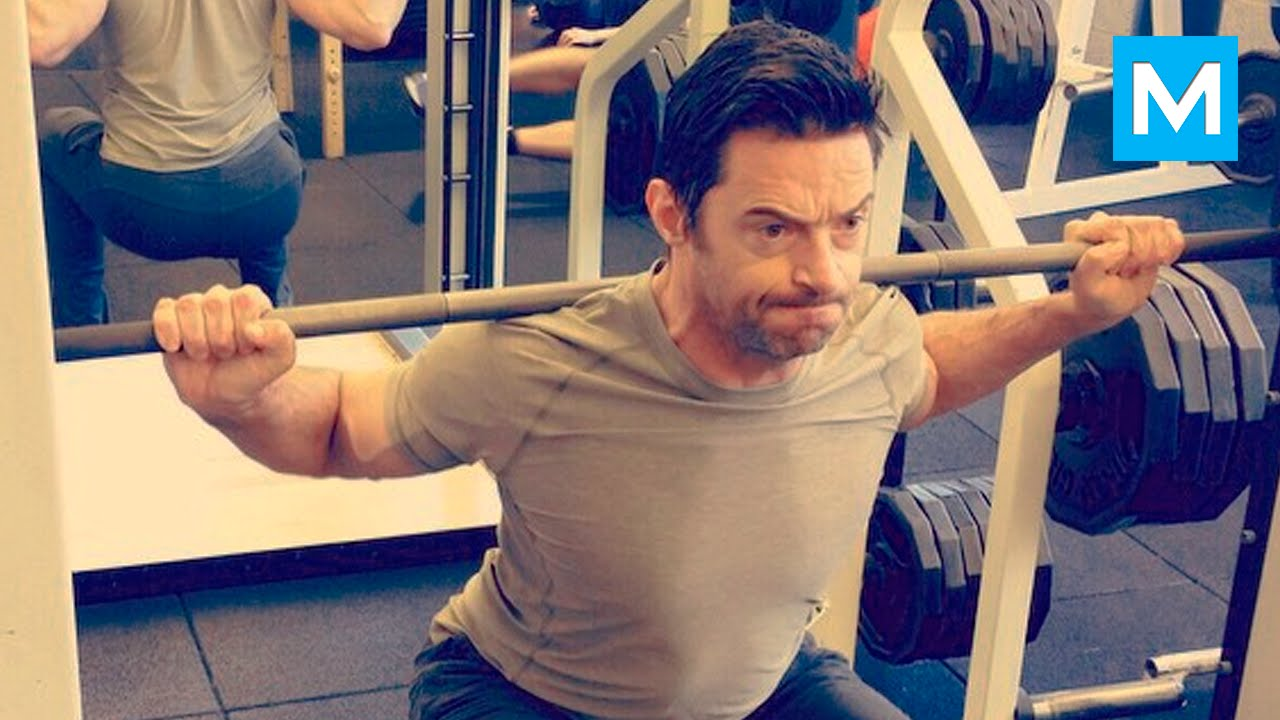 Hugh Jackman Workout for Wolverine | Muscle Madness - YouTube