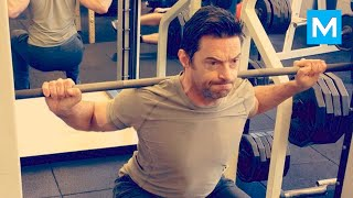 Hugh Jackman Workout for Wolverine | Muscle Madness