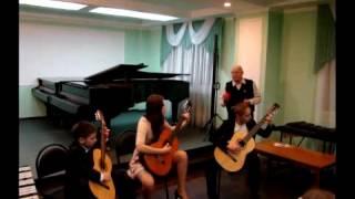 Кубинский танец (трио гитар)