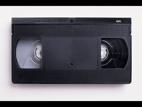 The Last VHS Video Cassette Tape Unboxing In Youtube Ever