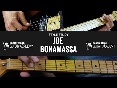 Joe Bonamassa Style Guitar Lesson | Descending Pentatonic Minor