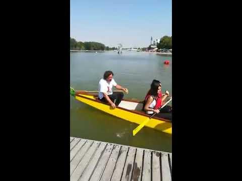 Шоу на Гребната, Тити Папазов обърна лодка с куп знаменитости