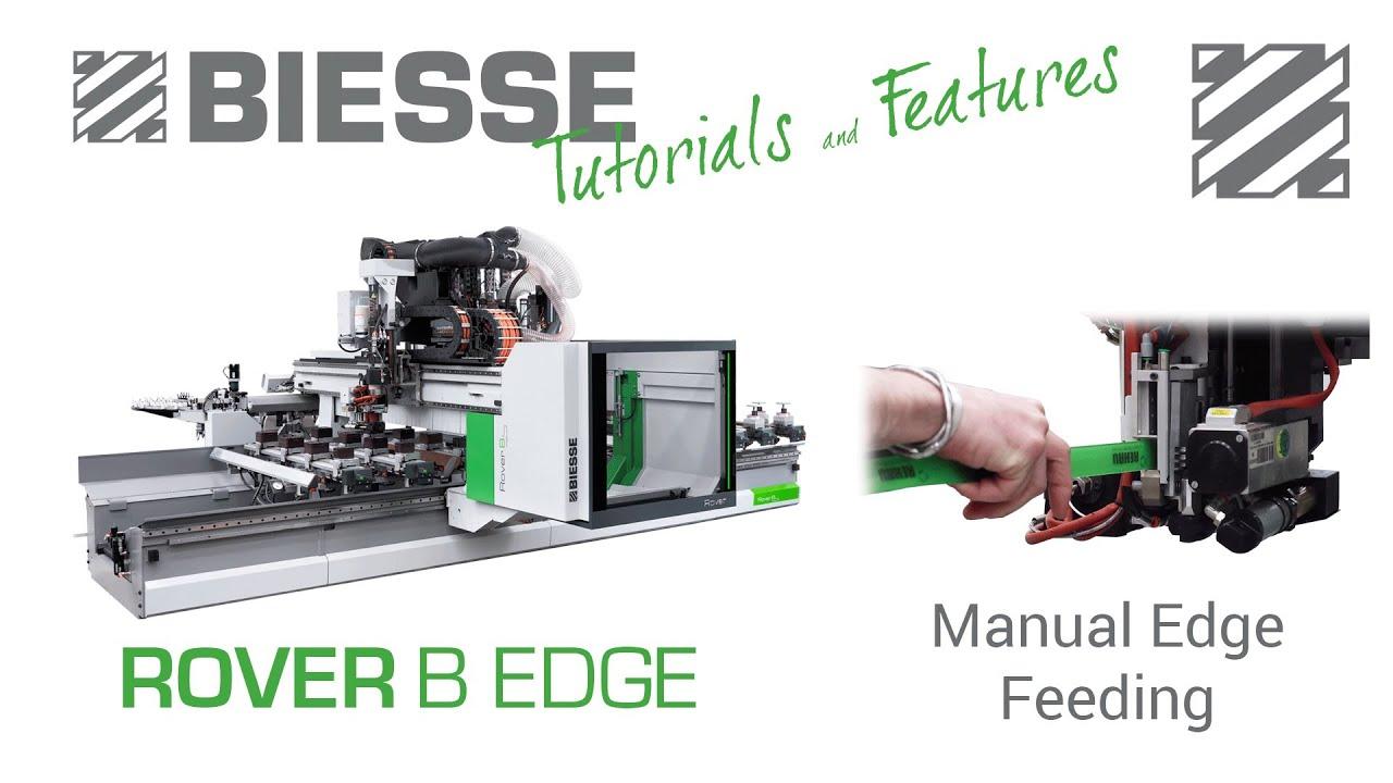 biesse rover b edge manual edge feeding youtube rh youtube com Biesse Be Home Used Biesse CNC