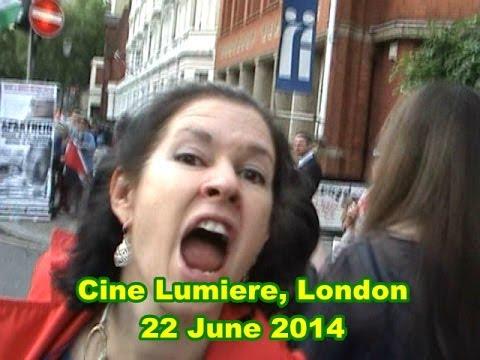 Protest Israel Seret Film Festival London 22 June 2014