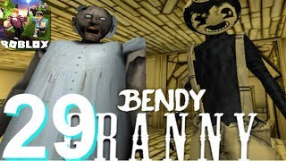ROBLOX Bendy Granny Procédure pas à pas Partie 29 - Android iOS Gameplay HD