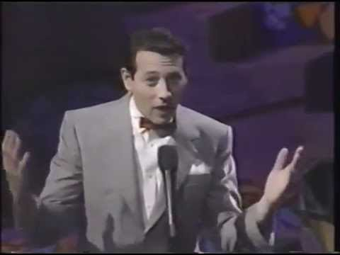 Pee Wee Herman appears on the 1991 MTV Music Awards