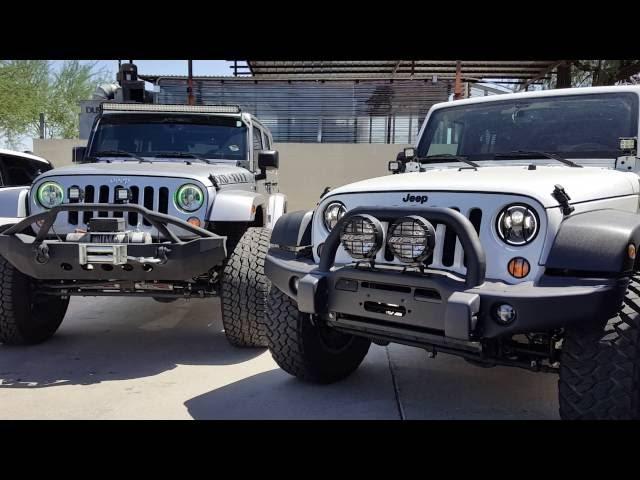 Apex Customs Week #5 - Jeeps, Trucks, Wraps, & Lighting