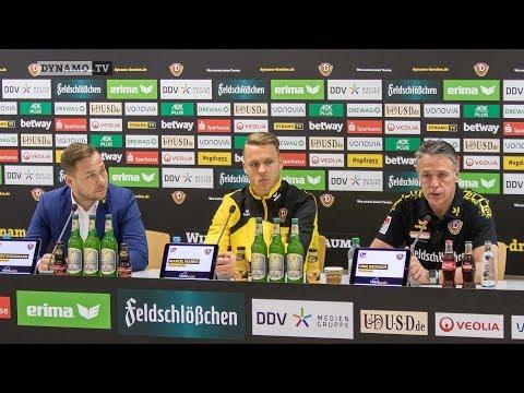 22. Spieltag | SGF - SGD | Pressekonferenz vor dem Spiel