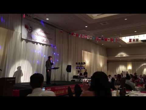 Great Tenor Performance at 2016 Madame Int'l Ball