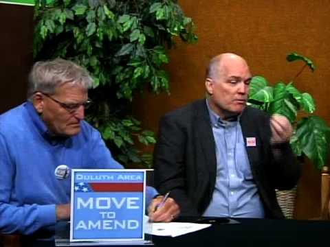 Duluth Area Move to Amend - Interviews with Founders David Cobb & Ruthi Engelke