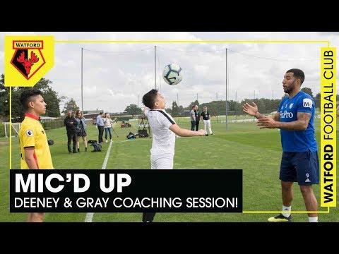DEENEY & GRAY MIC'D UP 🎤 | JUNIOR HORNETS COACHING SESSION!