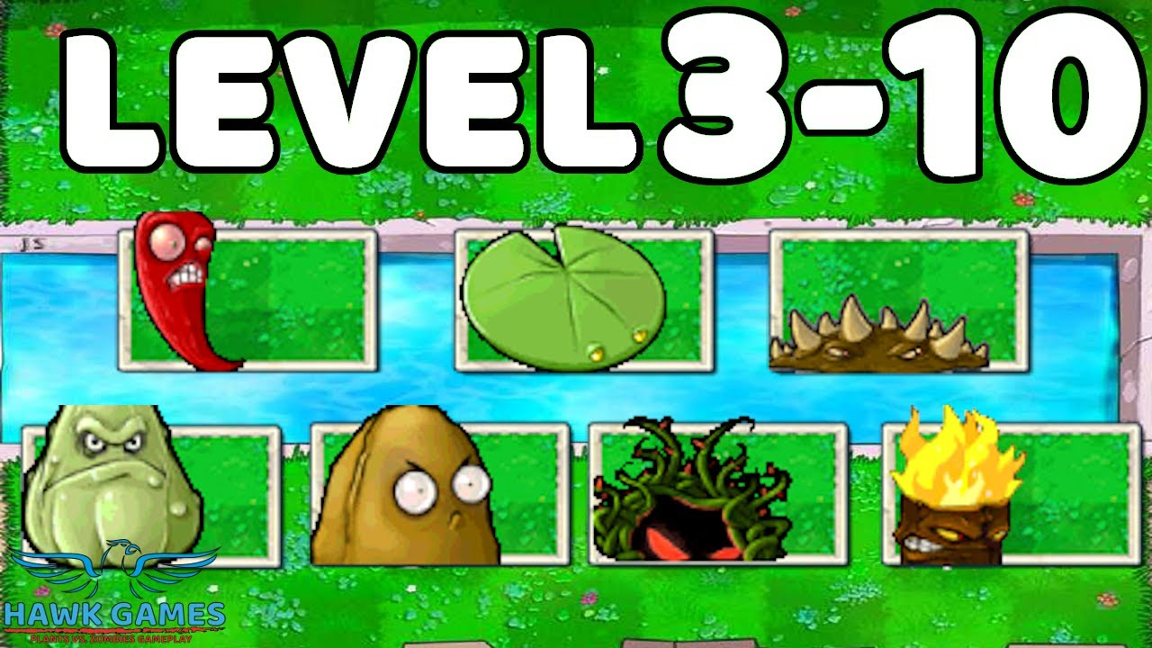 Plants vs Zombies Javascript Day Pool Grass 3-10 [Special Delivery]