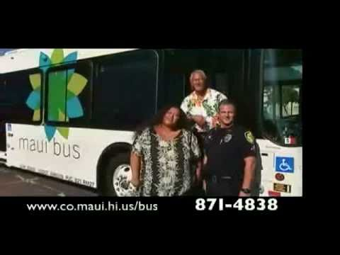 The Maui County Bus: Help Keep Our Roads Safe