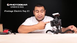 iFootage Electric Ray E1 - Photogear Unboxing