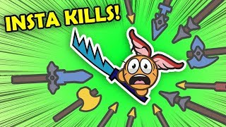 SATISFYING INSTA-KILLS in Moomoo.io + Meeting Toblerone & All You Can Eat Buffet! (Funny Moments)