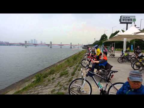 Biking korea mapo gu - Hanggan River