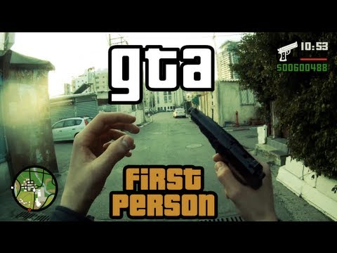 First person GTA [GTA in real life]