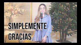 Simplemente gracias - Calibre 50 (Carolina Ross cover)