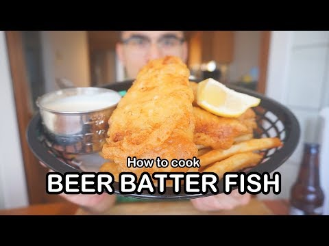 BEST BEER BATTER FISH