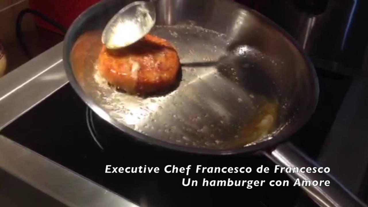 Corso di cucina: cucinare un hamburger con amore youtube