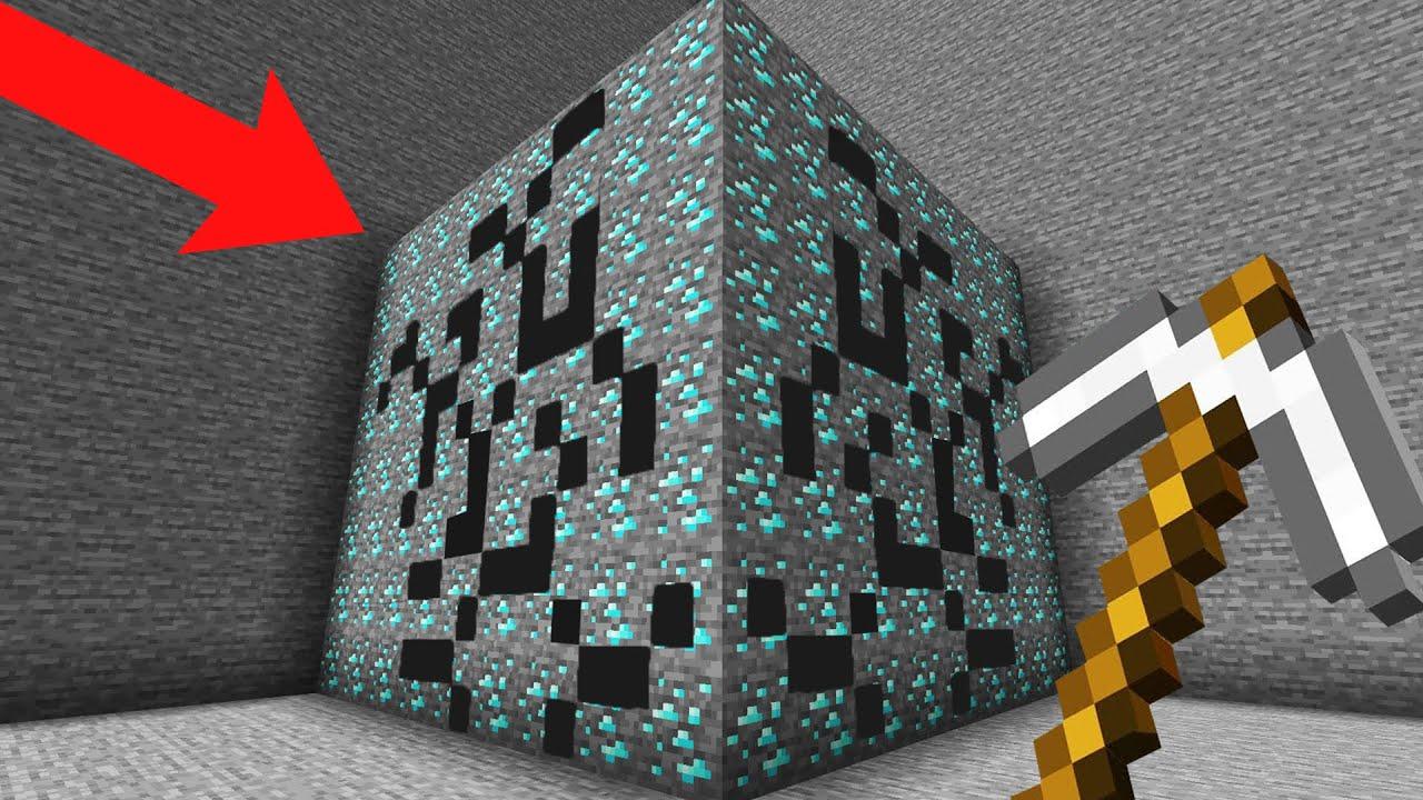 minecraft AMA bütün dünyayı kazabiliyorum!