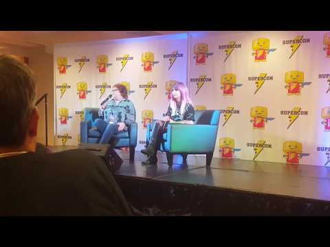 Animate! 2017 -  QnA with Maile Flanagan, voice of Naruto