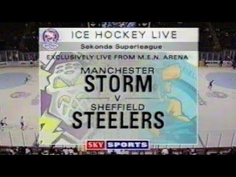 Manchester Storm v Sheffield Steelers - Ice Hockey Superleague - Thursday 1st October 1998