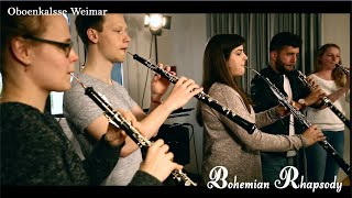 Oboenkalsse Weimar - Bohemian Rhapsody Oboe, Cor anglais & Piano Cover