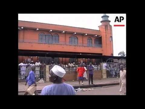 NIGERIA: LAGOS: RIOTS