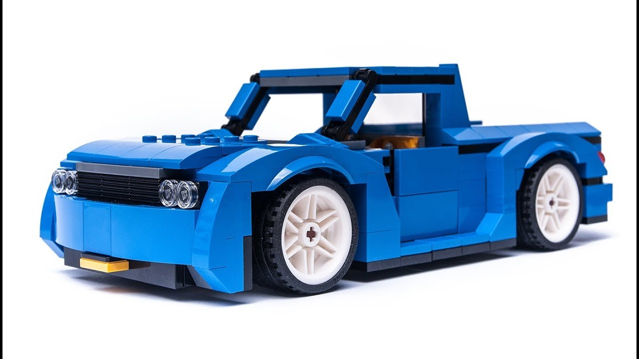 LEGO Creator 31070 alternative moc PICK UP building tutorial