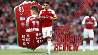 BETTER THAN KANTE?! UPGRADED FUTMAS TORREIRA (86) IN DEPTH PLAYER REVIEW (FIFA 19)