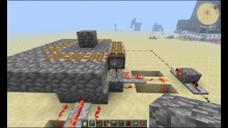 How to make a self building tower in Minecraft