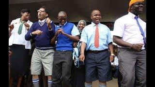Gov Paul Chepkwony Visits Kericho High School in Uniform | Kenya news today