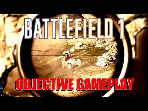 Battlefield 1 - Objectives gameplay - Infantry