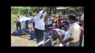 Agua potable llega a las comarcas de Vista Alegre y el Jocote