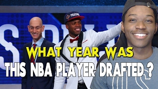 what year was this nba player drafted?