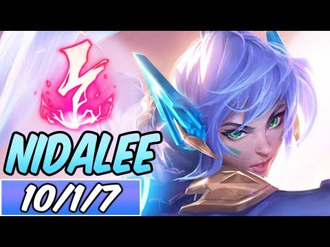 S+ FULL AP 40% CDR NIDALEE JUNGLE | Build & Runes | League of Legends