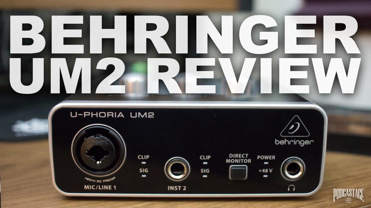 Behringer U Phoria Um2 Review Test