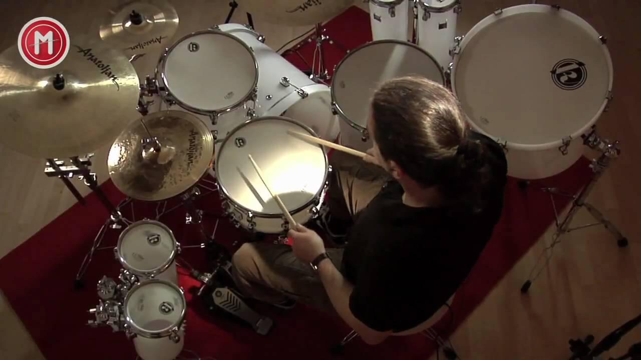 Arctic Snow Special Drumkit im Test auf MusikMachen.de - YouTube
