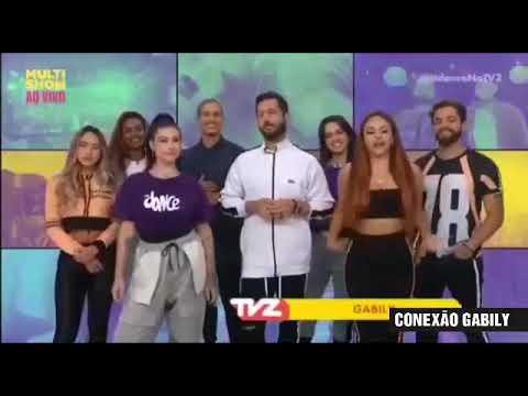 TVZ AO VIVO com Fitdance Gabily e Clau  Melhores Momentos