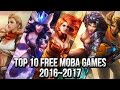 Top 10 Free MOBA Games 2016 2017 FreeMMOStation com