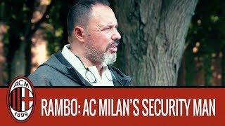 Giampaolo Bompiano, AC Milan's Security Man
