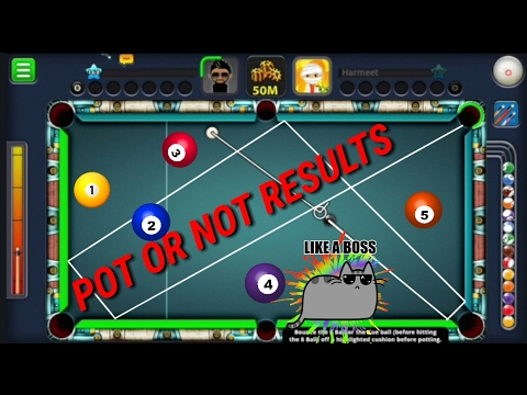 8 Ball Pool | Pot or Not | RESULTS | Mr Miss | Indirect Trick Bank Shots in Berlin Platz