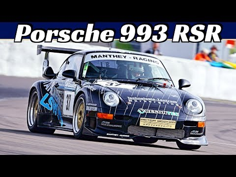 The '90s Porsche 911 RSR Is the Best-Sounding 993