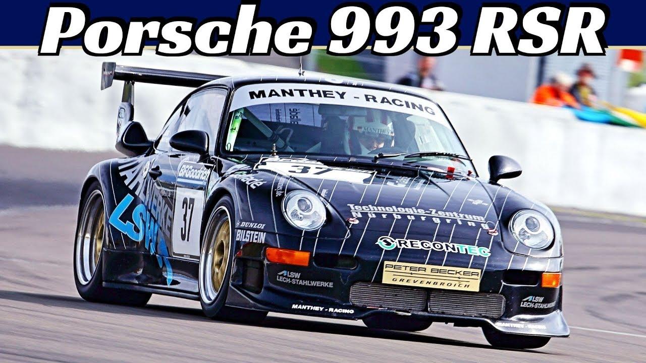 Porsche 993 RSR by Manthey Racing - 3.8-Litre Flat-Six Engine Sound! - 47th AvD Oldtimer GP 2019