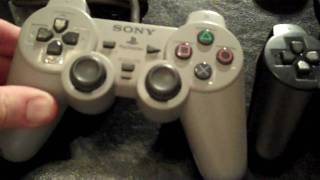 History of Playstation controllers