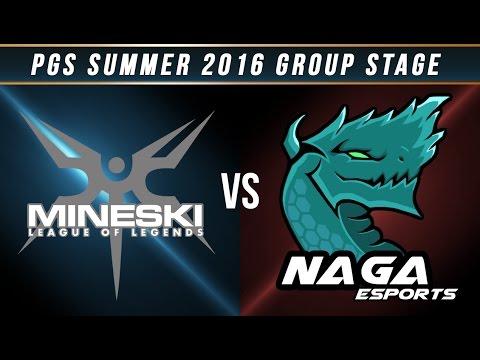 PGS 2016 Summer Split - W2 Day 1 - MSKI vs NAGA