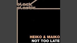 Heiko & Maiko — Not Too Late (Piano dub)