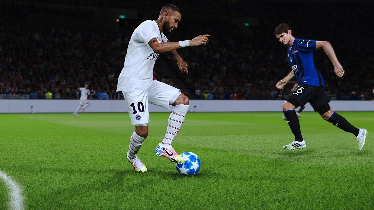 PES 2020 Gameplay   Paris Saint Germain vs Atalanta - UCL