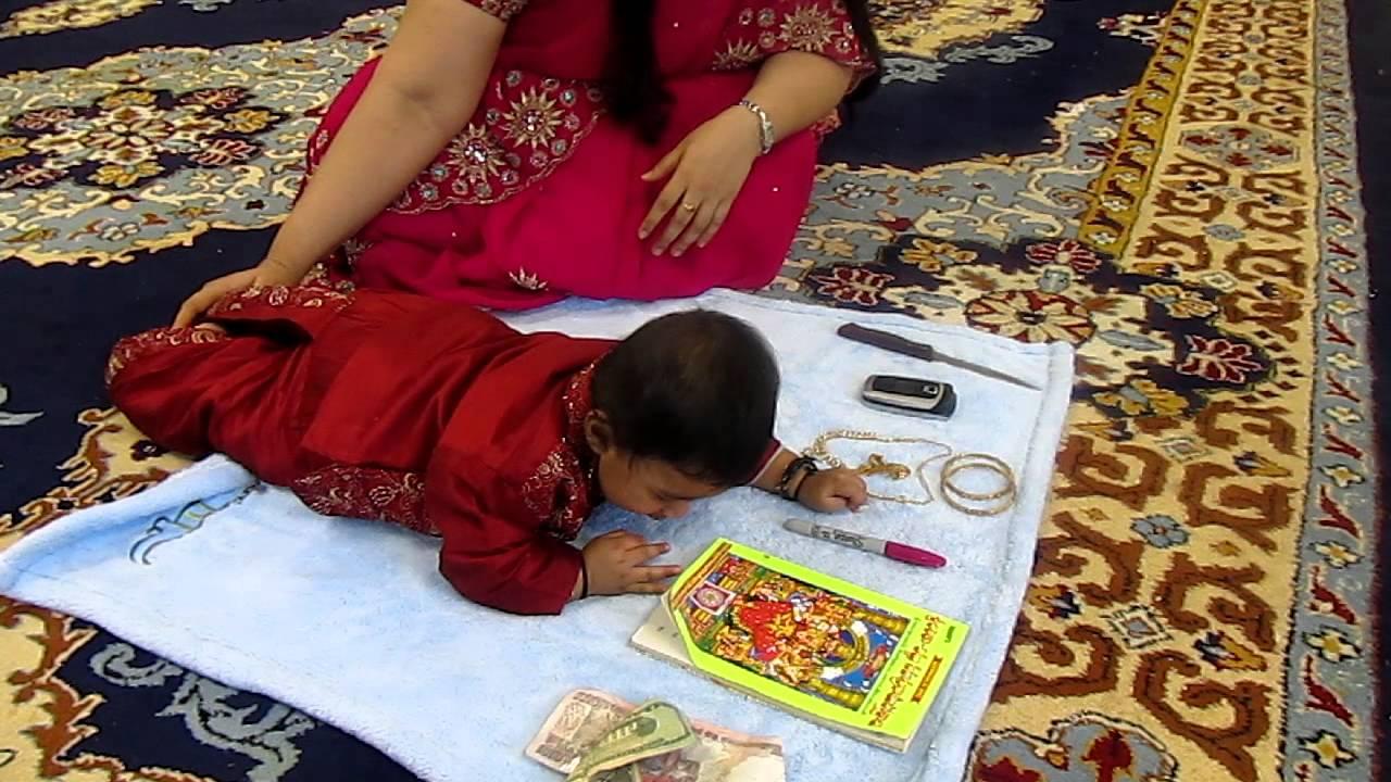 Aarin annaprasana 4 youtube for Annaprasana decoration